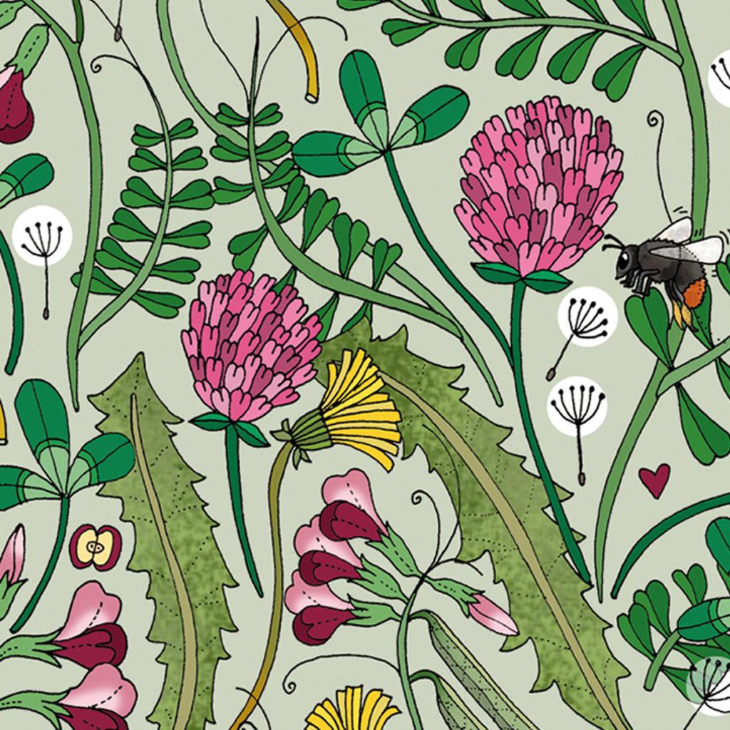 Bild på illustration ritad av Emma Jansson