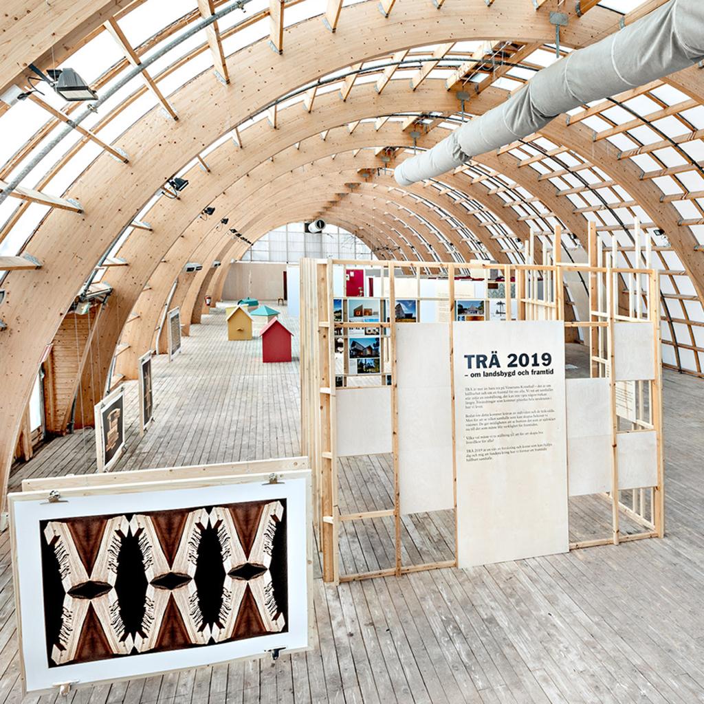 Bild från Trä 2019 utställning